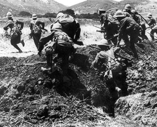 Çanakkale Savaşı'nın Anzak tarafından görünümü - Osman Şahin