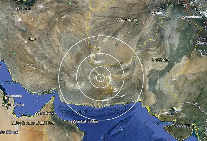 İran'da 7,8 büyüklüğünde deprem: 46 ölü