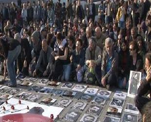 Ermeni Diasporası Taksim'de anmaya katılmış