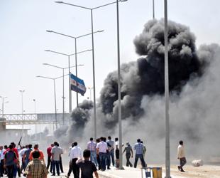 Akçakale'de provokasyon: Çadırlara saldırı girişimi