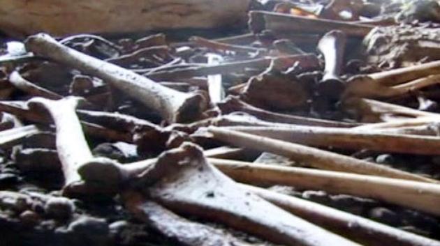 Tunceli'de 76 yıl sonra görüntülenen kemikler