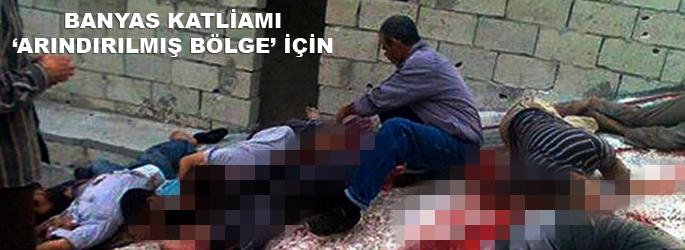 Banyas katliamı 'Nusayri Bölgesi' için