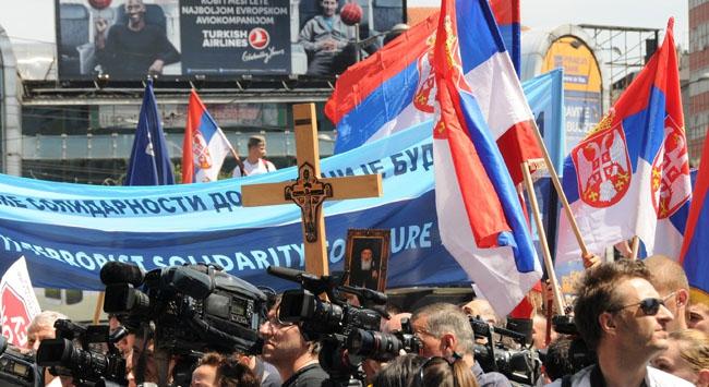 Sırplarda  Kosova öfkesi