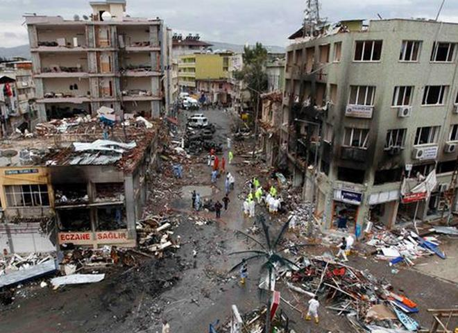 Reyhanlı'da maddi hasar 10 milyon lira
