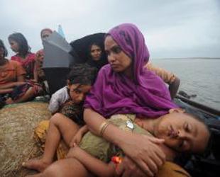 Budist zulmünden kaçıp denizde boğuldular