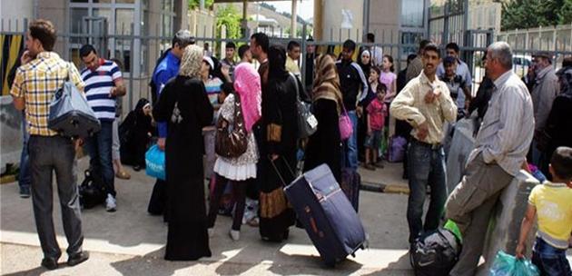 Bazı Suriyeliler ülkelerine geri dönüyor