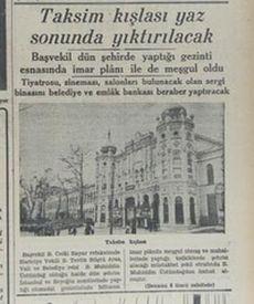Gezi Parkı (İnönü Gezisi) nasıl yapıldı?