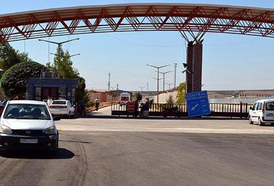 Öncüpınar Sınır Kapısı'nda girişler kapatıldı