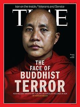 Myanmar, Budist terörü kapağa taşıyan Time'ı yasakladı