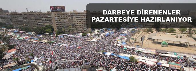 Mısır'da pazartesi milyonluk miting yapılacak