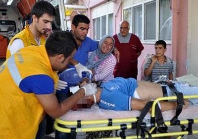 Suriye'den gelen mermi, Ceylanpınarlı Ahmet'i vurdu!
