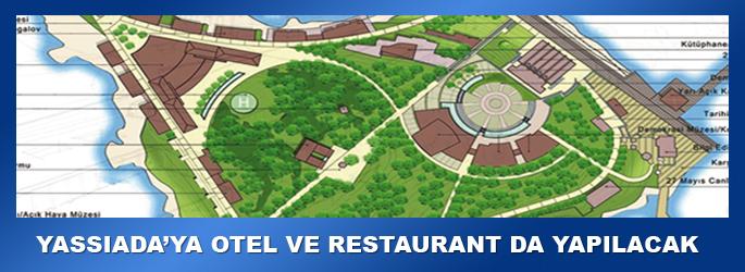 Yassıada'ya otel ve restaurant da yapılacak