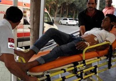 Suriye mermisi yine yaraladı
