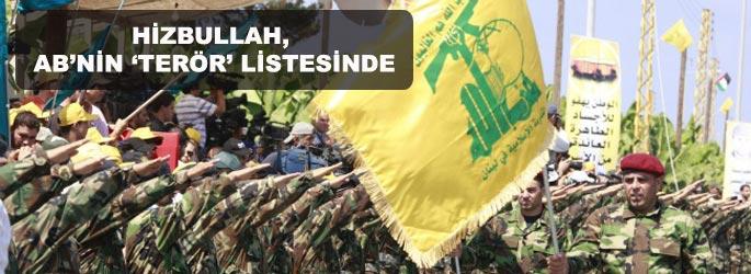 Hizbullah AB'nin 'terör' listesinde