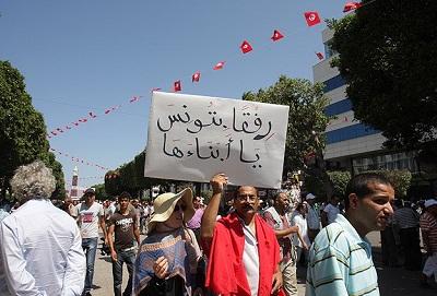 Tunus'ta 'meşruiyetin korunması' gösterileri