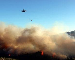 Balıkesir'deki yangın üçüncü gününde