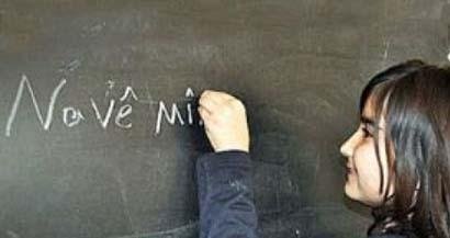 Kürtçe 'okul' için resmi başvuru yapıldı