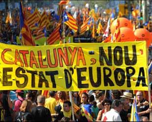 Katalonya AB'den destek istiyor