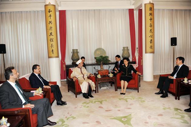 Görmez, Çin Başbakan Yardımcısıyla görüştü