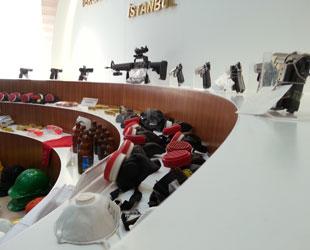 Gülsuyu'nda ele geçirilen silahlar -FOTO