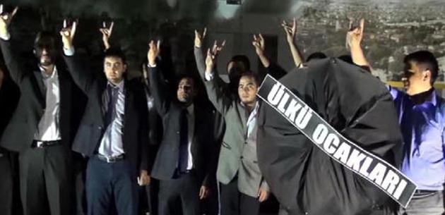 Ülkücülerden genel merkez talimatıyla protesto