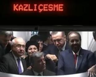 Marmaray duayla açıldı; ilk 15 gün ücretsiz!