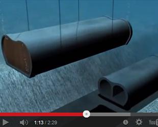 Marmaray'da tüpler böyle yerleştirildi-VİDEO