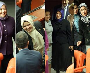 Başörtülü milletvekillerine ilk tepkiler