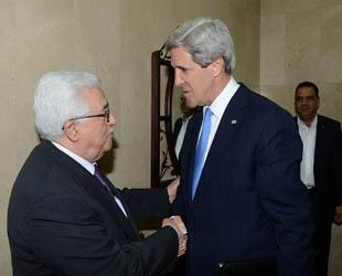 Kerry ile Abbas müzakerelerin çerçevesini görüştü