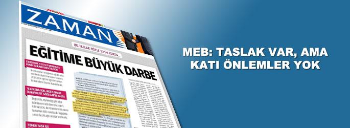 MEB'den 'dershane taslağı' açıklaması