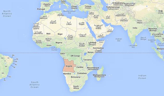 İslamiyeti yasaklayan Angola nerede?