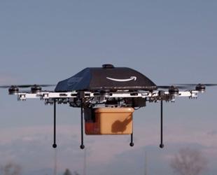 Amerika'da dronelerle paket servisi planlanıyor