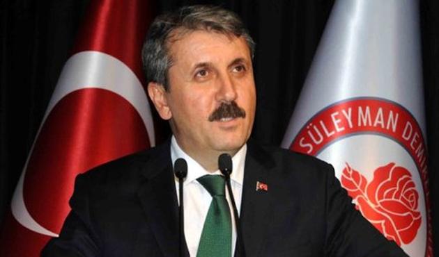 Mustafa Destici'den istifa sinyali