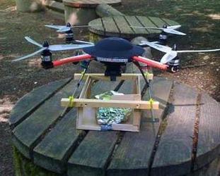 Dönerkopter adlı drone 1 yıl önce tanıtılmış