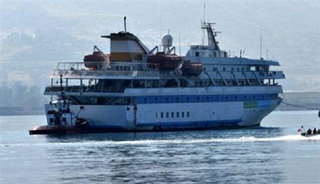 Mavi Marmara gemisi, Samsun ve Çanakkale yolunda