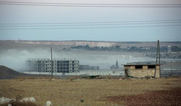 Halep'te 10 mahkum donarak öldü