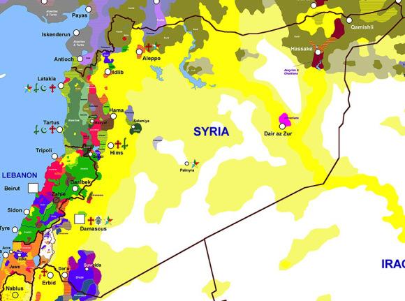 Lübnan ve Suriye'de mezhepçilik / Rapor