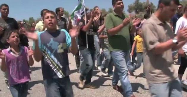 Barış görüşmeleri Ramallah'ta protesto edildi