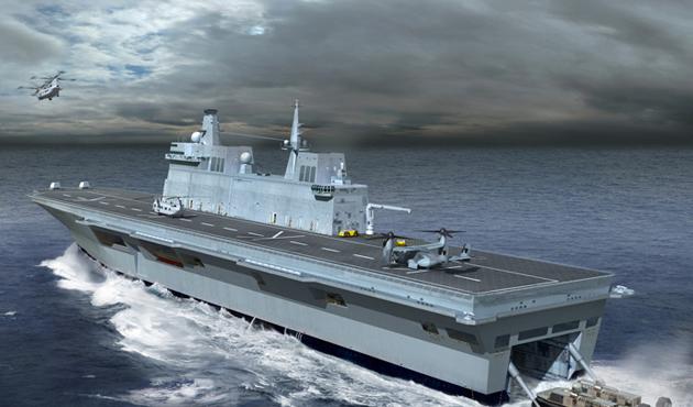 İsrail 'Türk uçak gemisi projesi'nden rahatsız