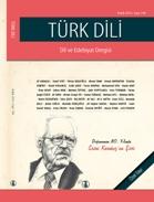 Sezai Karakoç şiiri Türk Dili'nde