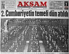 Türkiye'de 2. Cumhuriyet böyle kurulmuştu