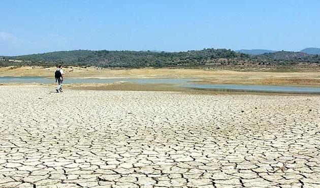 Barajların doluluk oranları düştü