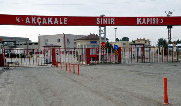 Akçakale Gümrük Kapısı kapatıldı