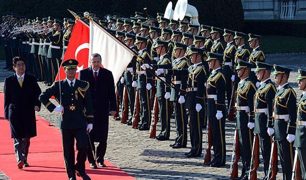 Erdoğan, Japon İmparatoru ile görüşecek