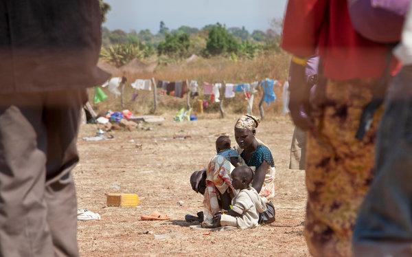 Güney Sudan Ordusu sivillerin kampına zorla girmiş