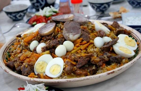 Taşkent'te pilav festivali