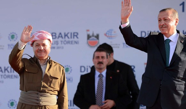 Barzani'den Erdoğan'a 'süreç'li tebrik