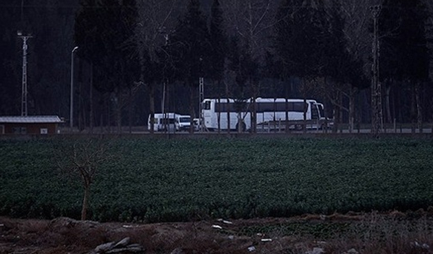 Adana'daki otobüslerde mermi bulundu