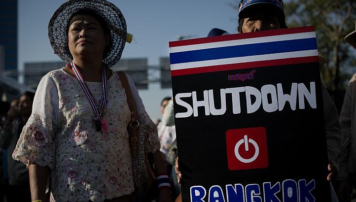 Tayland'da göstericilere 72 saat süre