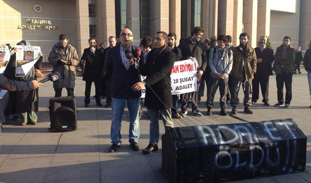 Yakup Köse'ye mahkumiyet kararına protesto